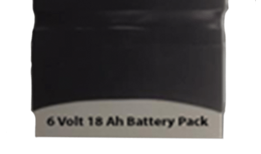 6 Volt Battery Pack / 18 Amp Hour