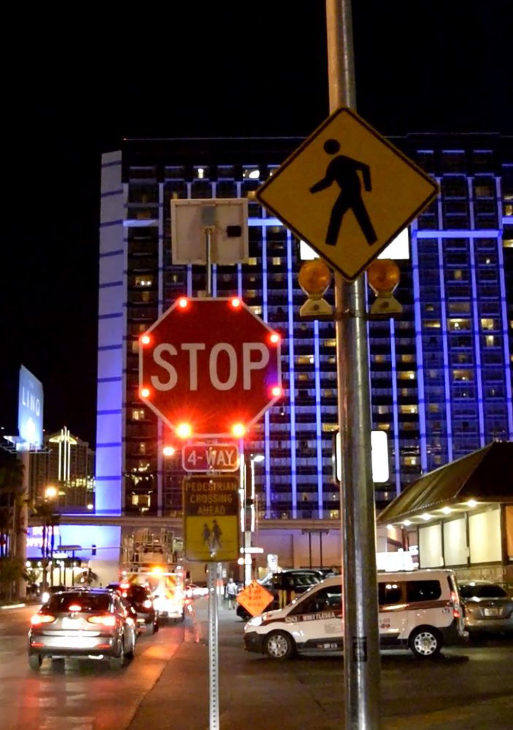 R1-1 Stop Sign in Las Vegas, Nevada
