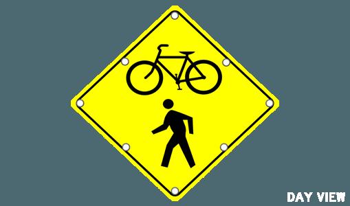 pedestrians solar traffic systems presents school zone