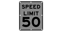 Flashing Speed Limit Sign R2 1 Solar Traffic Systems Inc