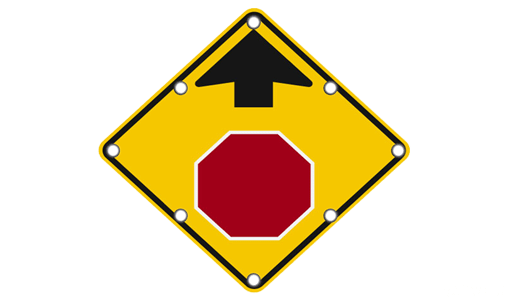 Buy Flashing Stop Signs Online | Audible Tones Available