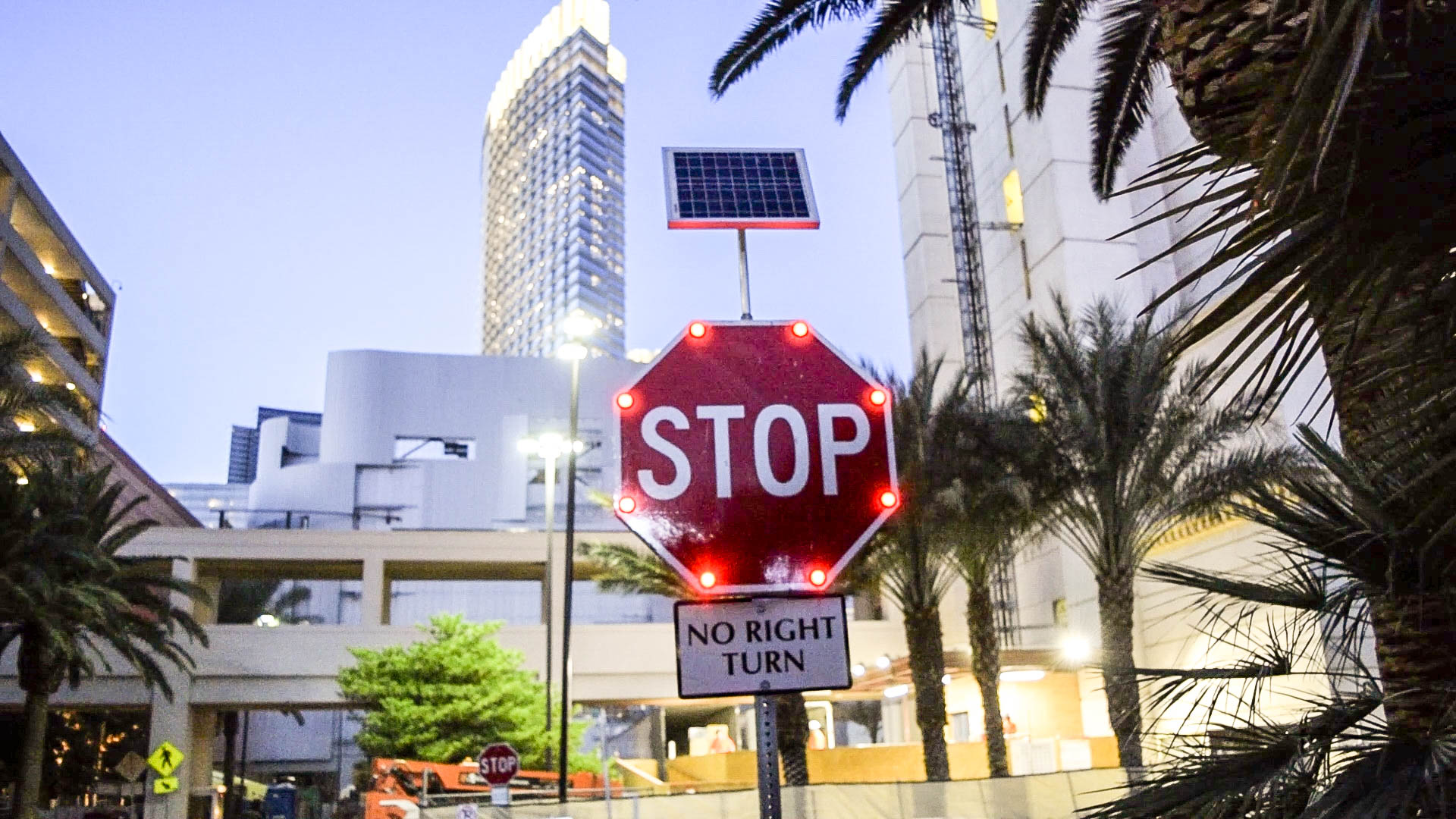 Stop Sign in Las Vegas, Nevada