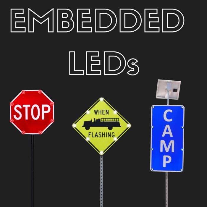 Embedded LEDs