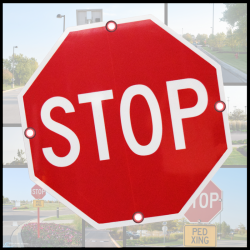 Solar Stop Signs