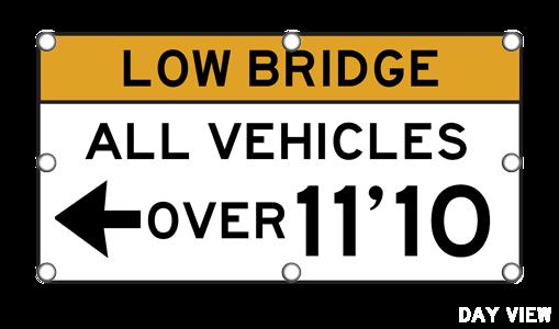 Flashing Low Bridge