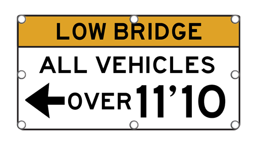 Flashing Low Bridge